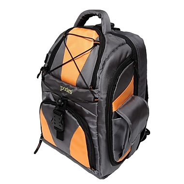 Portare Bags Camera/Laptop/Ipod Backpack; Orange
