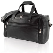 U.S. Traveler Runner 21'' Koskin Leather Carry-On Duffel