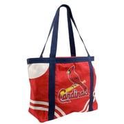 Little Earth MLB Canvas Tailgate Tote Bag; St. Louis Cardinals