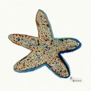 Betsy Drake Interiors Starfish Coaster (Set of 4)
