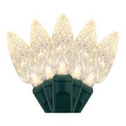Wintergreen Lighting 70 Light Christmas LED Lights; Warm White