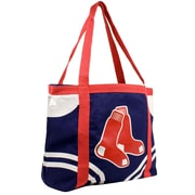 Little Earth MLB Canvas Tailgate Tote Bag; Boston Red Sox