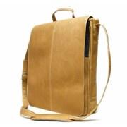 Le Donne Leather Messenger Bag; Tan
