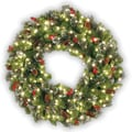 National Tree Co. Pre-Lit 24'' Crestwood Spruce Wreath