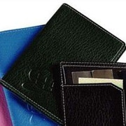 Preferred Nation Leather Passport Cover; Green