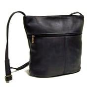 Le Donne Leather Bucket Shoulder Bag; Caf
