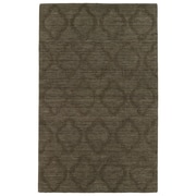 Kaleen Imprints Modern Chocolate Geometric Area Rug; 5' x 8'