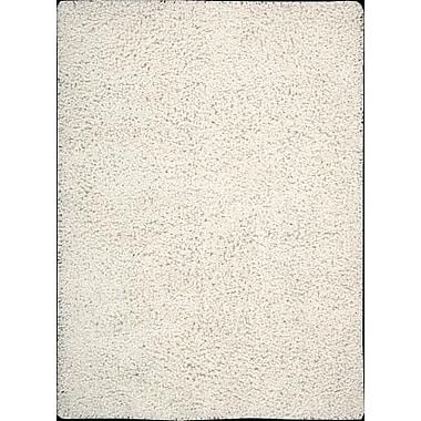 Nourison Zen Shag White Area Rug; 3'6'' x 5'6''