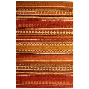 Acura Rugs Diana Red Area Rug; 5' x 8'