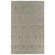 Kaleen Imprints Modern Light Brown Geometric Area Rug; 5' x 8'