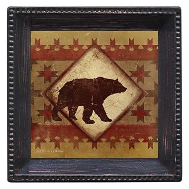 Thirstystone Lodge Bear Ambiance Coaster Set (Set of 4)