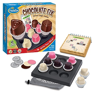 Think Fun Chocolate Fix Sweet Logic Game