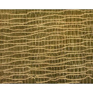 Artisan Carpets Designers' Reserve Yellow/Green Area Rug; 3' x 5'
