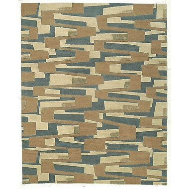 Artisan Carpets Designers' Reserve Blue/Brown Area Rug; 3' x 5'