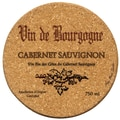 Thirstystone Cabernet Wine Label Cork Coaster Set (Set of 6)