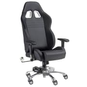 Pit Stop Furniture Grand Prix Executive Chair; Black