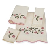 Avanti Linens Melrose Scallop 4 Piece Towel Set