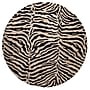Bashian Rugs Norwalk Black/Ivory Animal Print Area Rug;