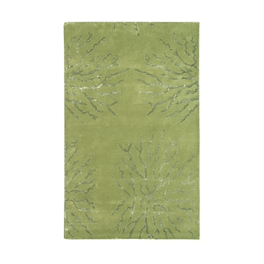 Noble House Citadel Green Rug; 8' x 11'