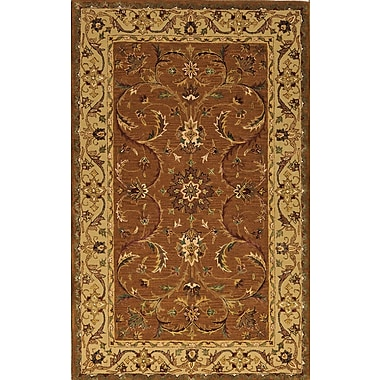Meva Rugs Jasmine Brown Rug; 8' x 11'