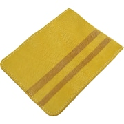 Mulholland Brothers High and Mighty Mini iPad Sleeve; Mustard / Dark Brown Stripes