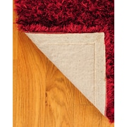 Natural Area Rugs Shag Red Carnation Rug; 8' x 10'