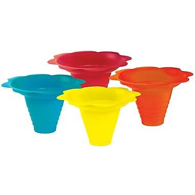 Paragon International Flower Sno Cone Drip Cup (Set of 100); 8 oz.