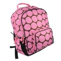 Wildkin Ashley Big Dots Macropak Backpack; Hot Pink