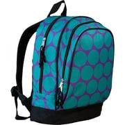 Wildkin Big Dots Sidekick Backpack; Aqua