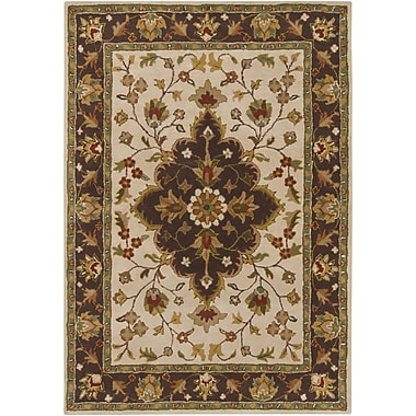 Chandra INT Beige/Brown Area Rug; 7' x 10'