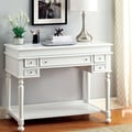 Hokku Designs Lincoln Secretary Desk; White