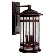 Capital Lighting Mission Hills Wall Lantern; Incandescent