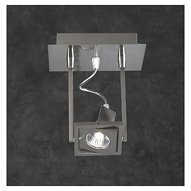 PLC Lighting Square 1-Light Wall Sconce