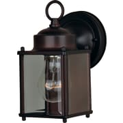 Maxim Lighting 1-Light Outdoor Wall Mount; Oil Rubbed Bronze