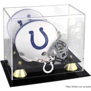 Mounted Memories NFL Classic Logo Mini Helmet Display Case; Indianapolis Colts