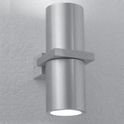 LumenArt Alume 2-Light Accent Wall Sconce; Without Junction Box Cover Staples