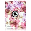 Bargain Tablet Parts iPad Blossom Rotating Case; Pink