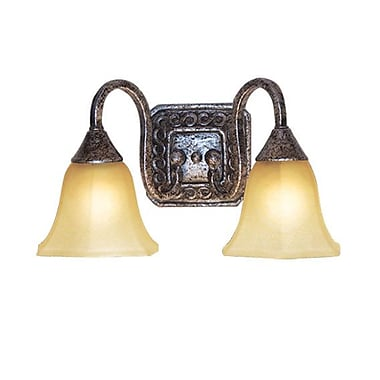 Woodbridge Basic 2-Light Vanity Light