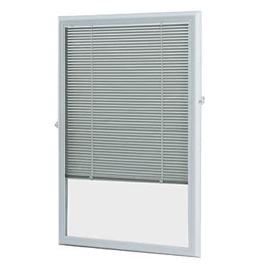 Zabitat Cordless Add on Enclosed Door Venetian Blind; 24'' W x 38'' L x 1.5'' D