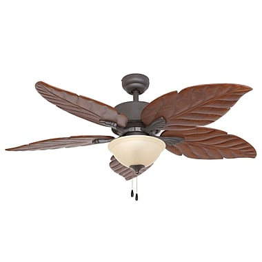 Calcutta 52'' St. Marks Bowl Light 5 Blade Ceiling Fan