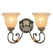 Livex Lighting Wellington 2 Light Vanity Light