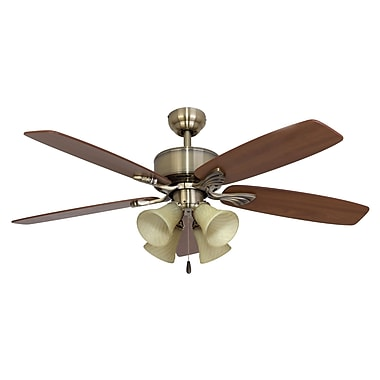 Calcutta 52 Northport 4 Light 5 Blade Fan