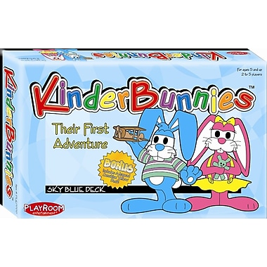 Playroom Entertainment Kinder Bunnies Card Game