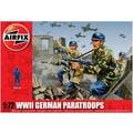 Airfix 1:72 WWII German Paratroops Plastic Figures