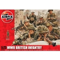 Airfix 1:72 WWII British Infantry Northern Europe Plastic Figures