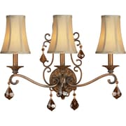 Forte Lighting 3 Light Wall Sconce