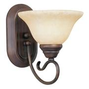 Livex Lighting Coronado 1 Light Wall Sconce; Imperial Bronze