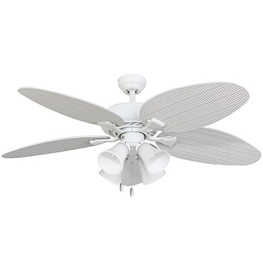 Calcutta 52'' Surf Island 4 Light 5 Blade Fan