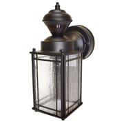 Heath-Zenith Motion Activated 1 Light Wall Lantern Security Light; Oil Rubbed Bronze