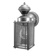 Heath-Zenith Shaker Cove Mission Style Motion Activated Security Light; Silver